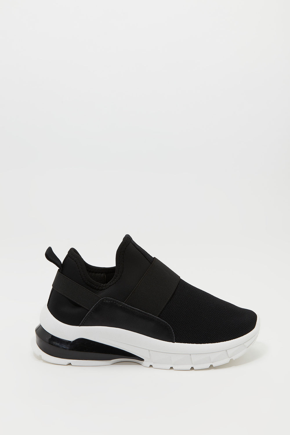 Sommer Ray Knit Laceless Sneaker Black