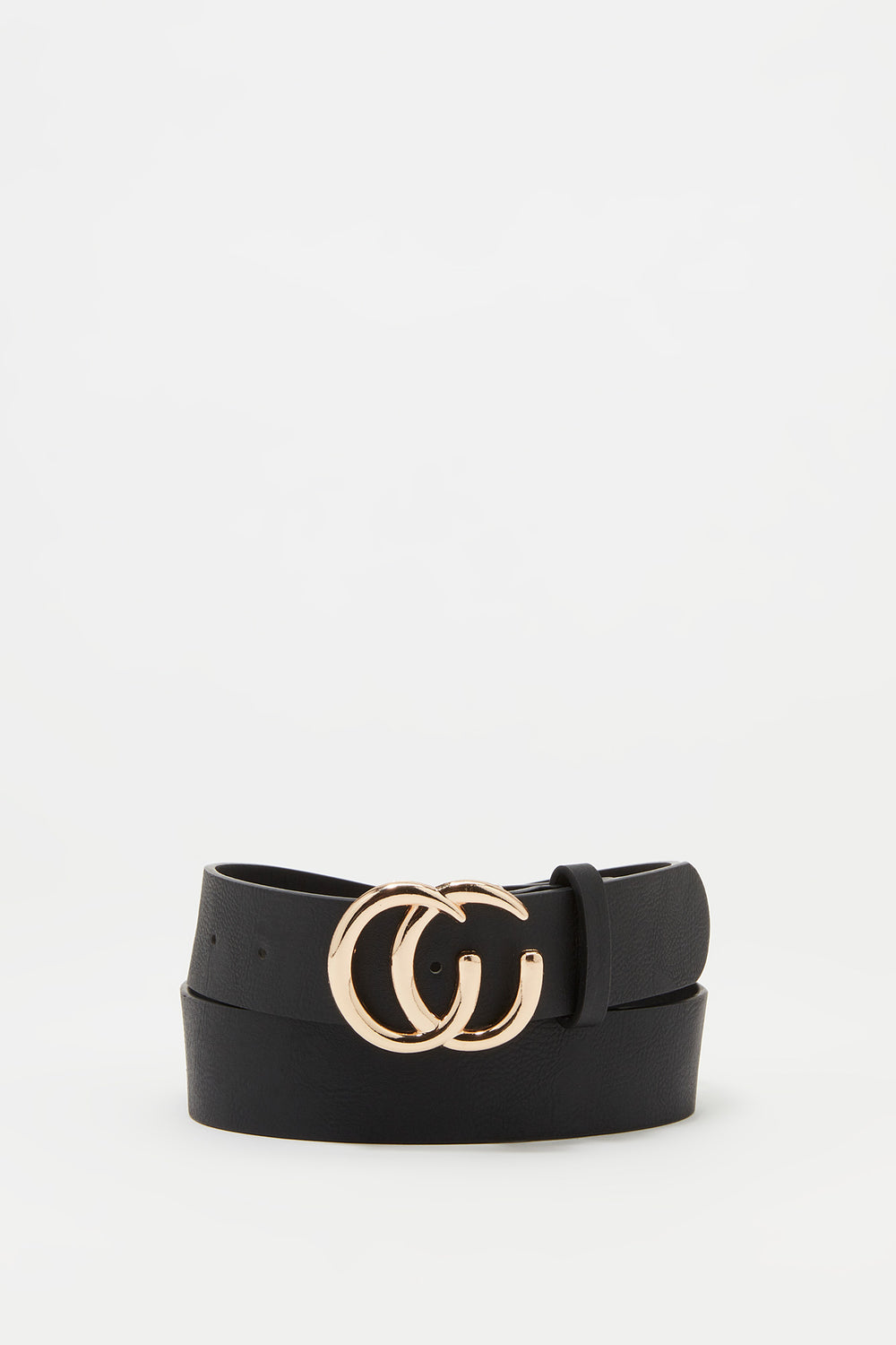 Link CC Buckle Belt Black