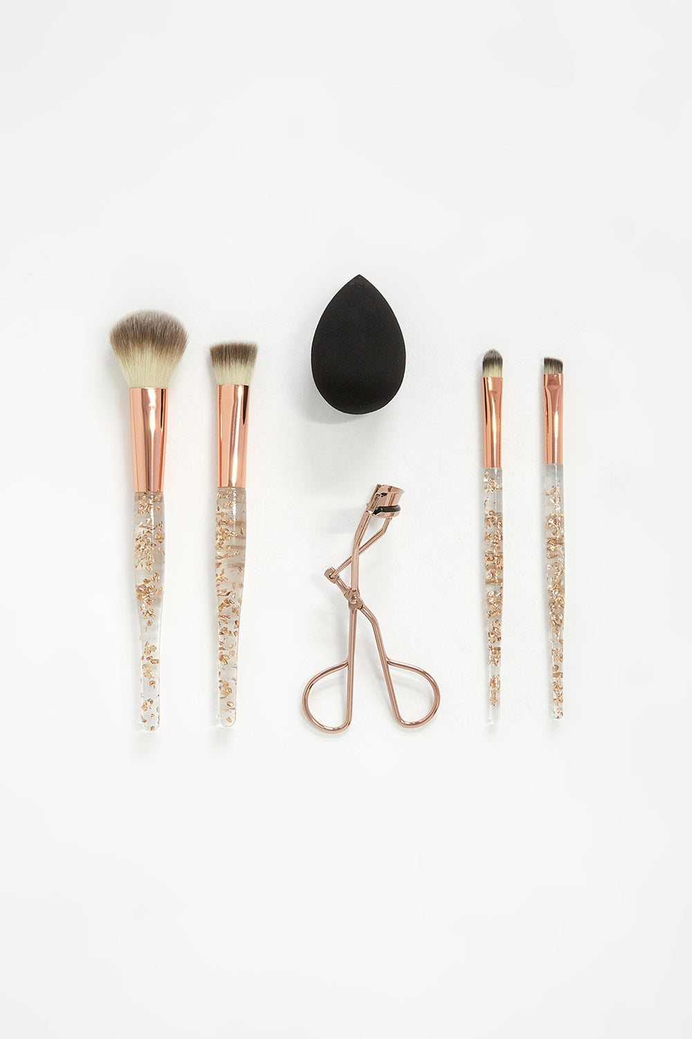6-Piece Beauty Set Black