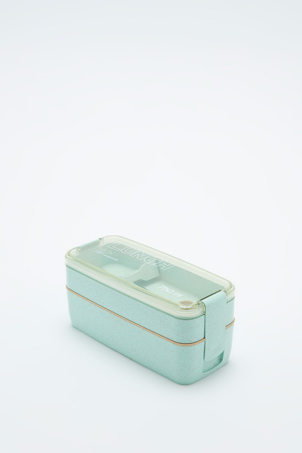 Eco-Friendly Double Layer Lunch Box Sage