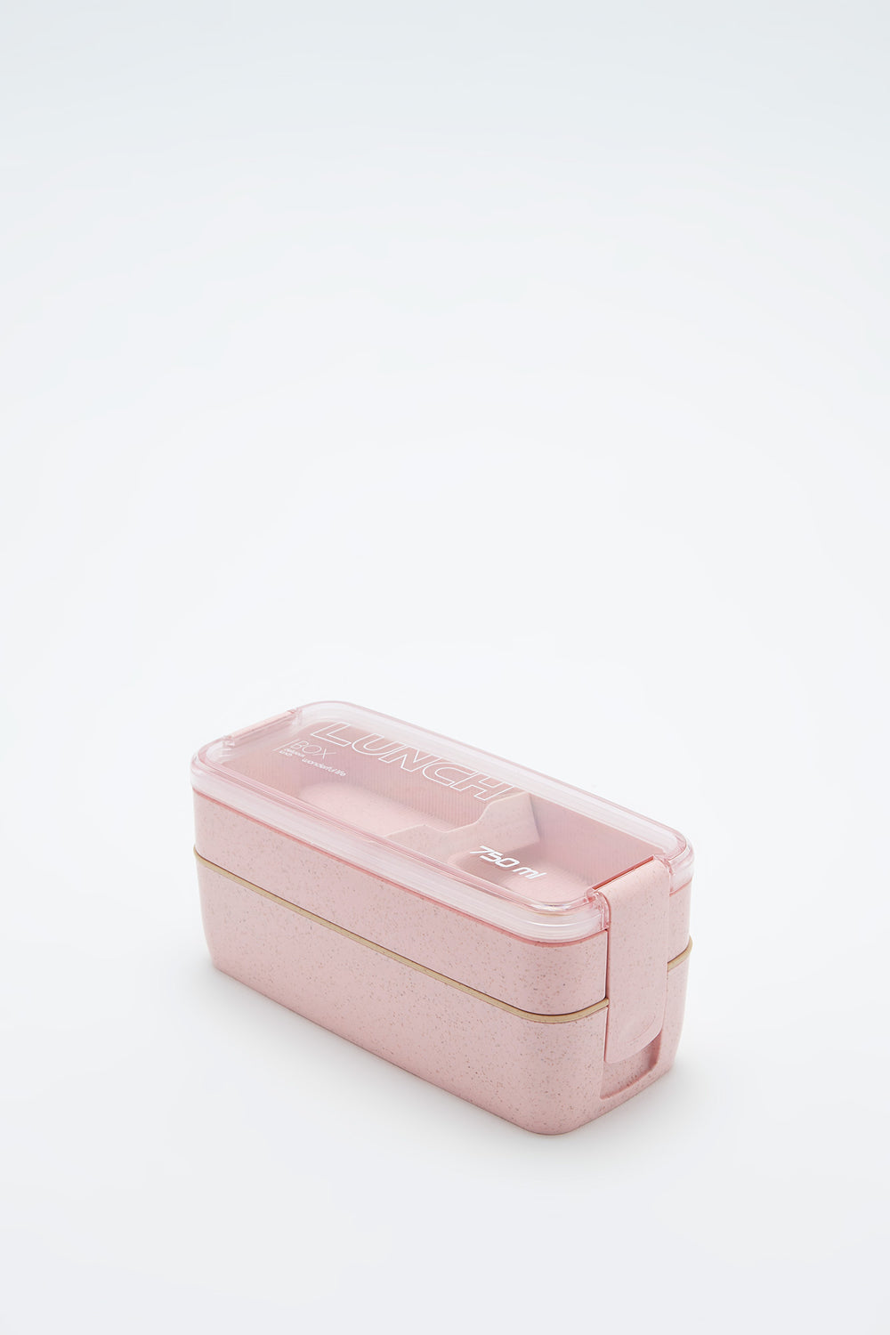 Eco-Friendly Double Layer Lunch Box Rose