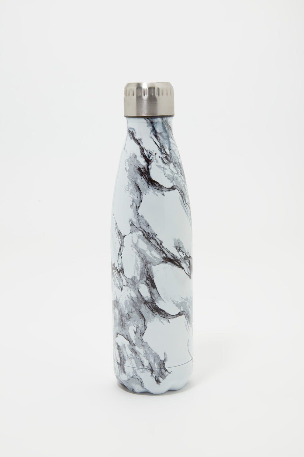 Double Wall Insulated Stainless Steel Water Bottle White