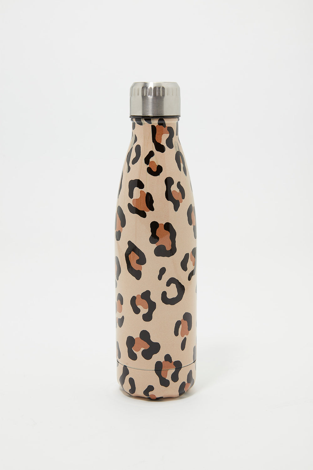 Double Wall Insulated Stainless Steel Water Bottle Leopard