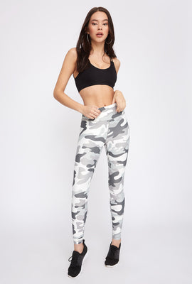 Infinite Camo High-Rise Active Legging