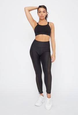 Infinite High-Rise Mesh Insert Active Legging
