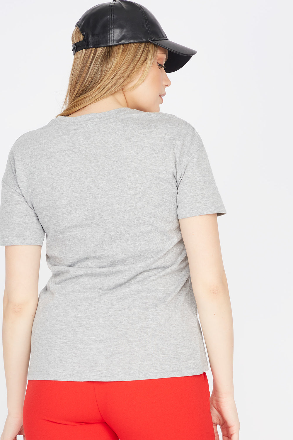 If You're Reading This Graphic Boyfriend T-Shirt Heather Grey