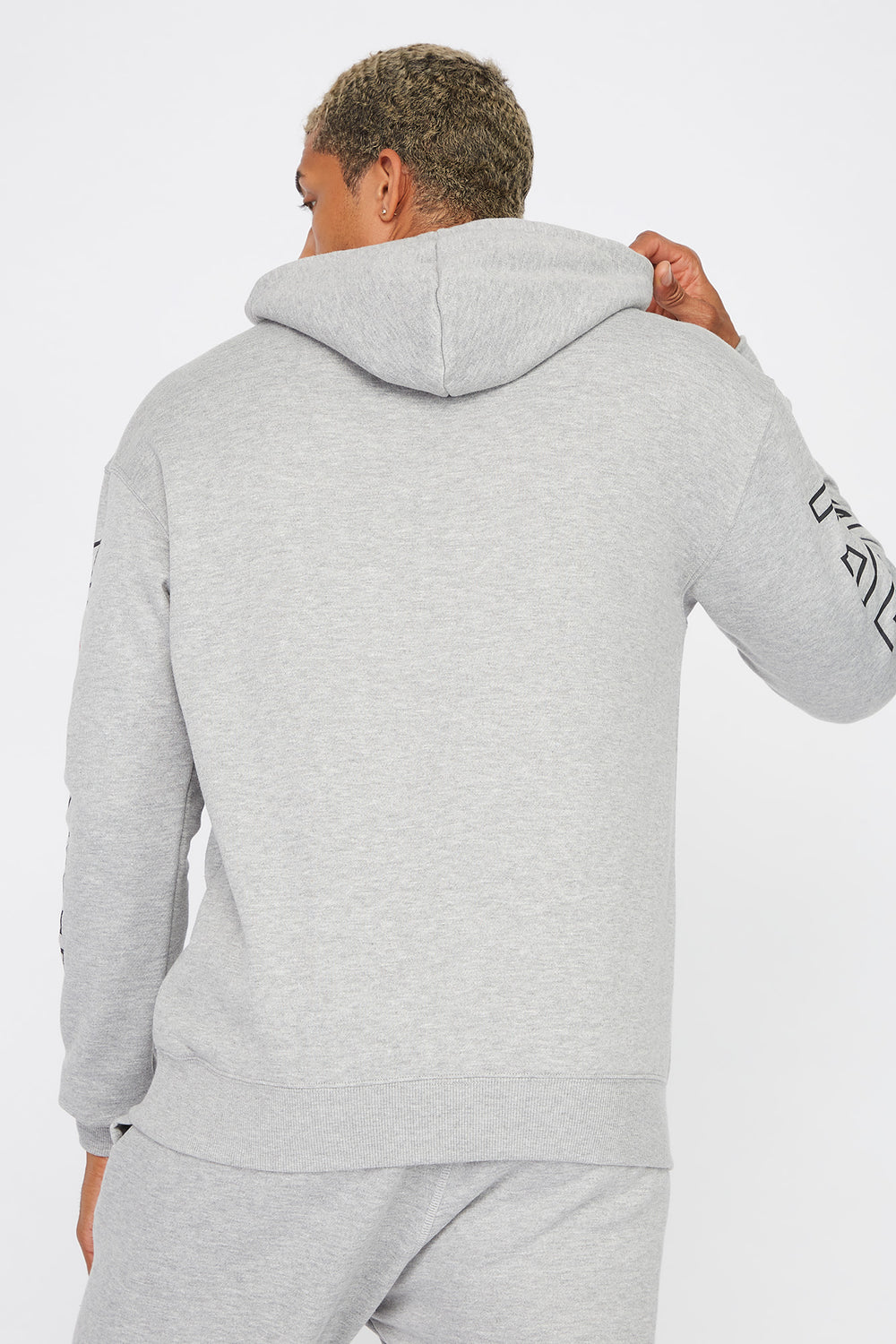 Toronto Champions Graphic Popover Hoodie Heather Grey