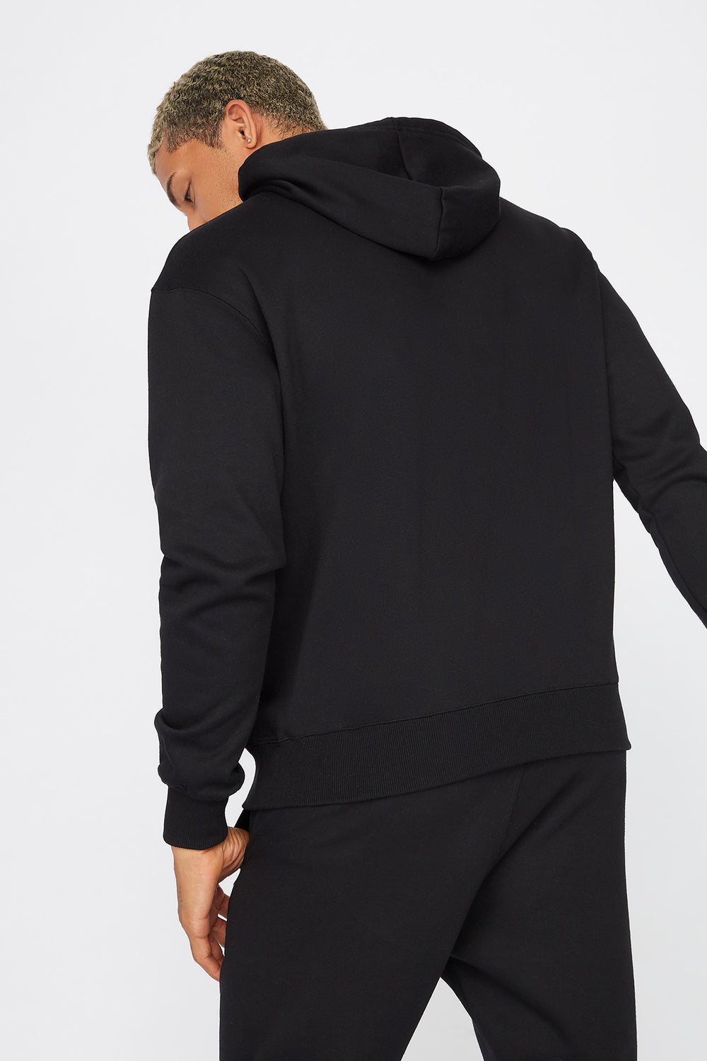 The Six Toronto Graphic Hoodie Black