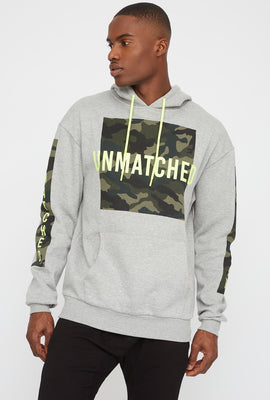 Camo Graphic Hoodie