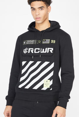 Rocawear Reflective Graphic Patch Hoodie