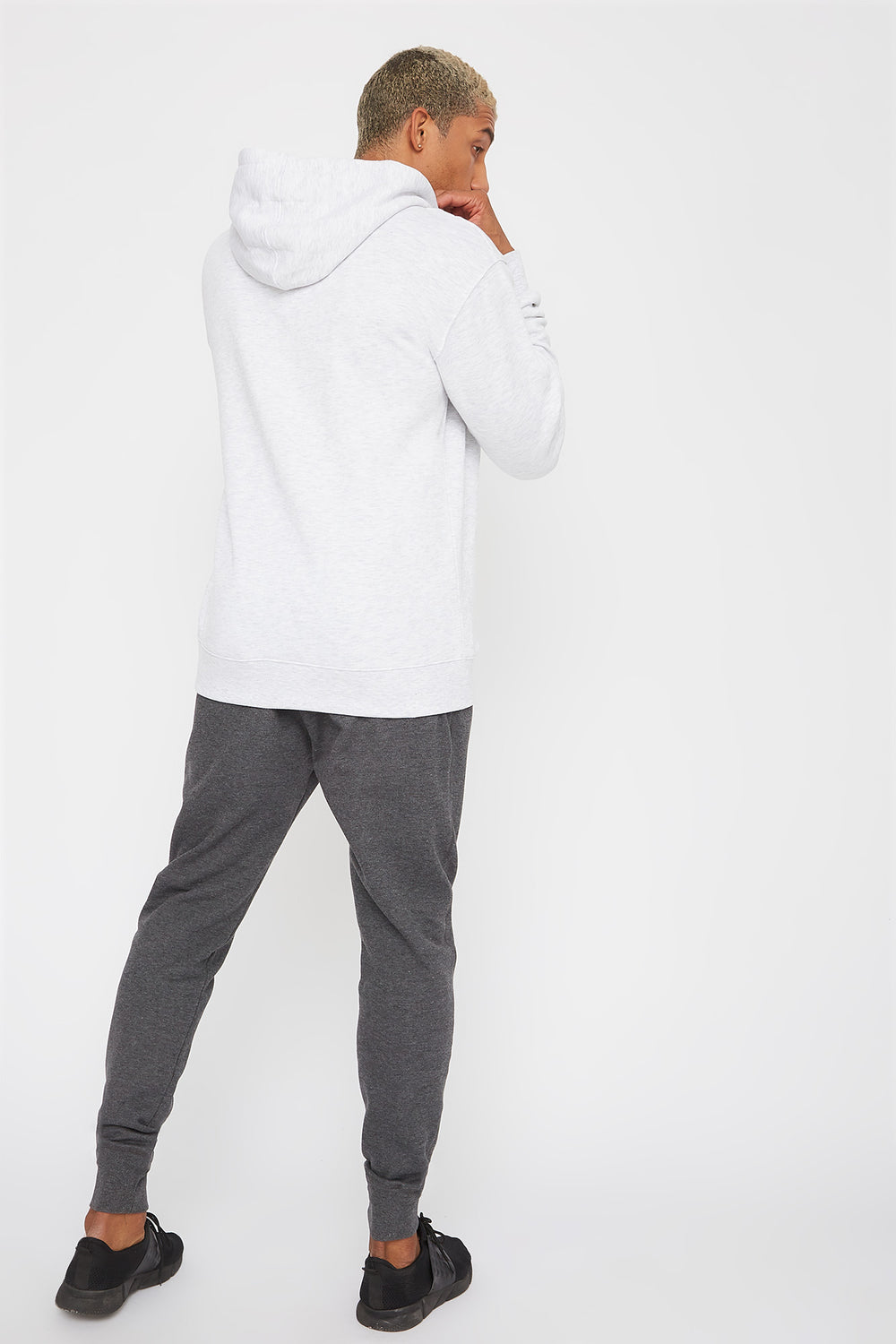 Classic Fleece Jogger Charcoal