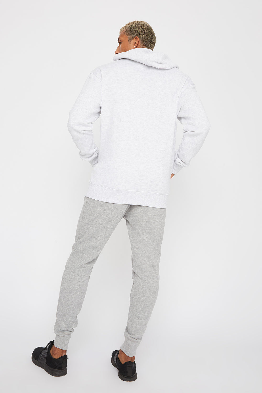 Classic Fleece Jogger Heather Grey