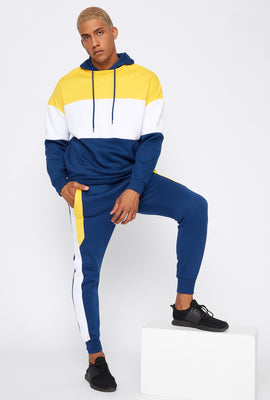 Colour Block Drawstring Jogger