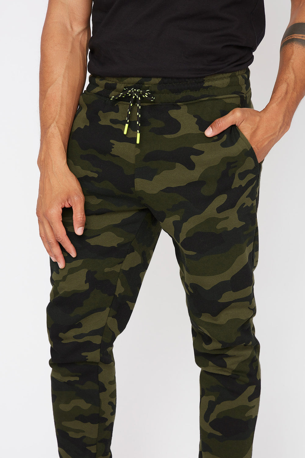 Drawstring Camo Jogger Camouflage