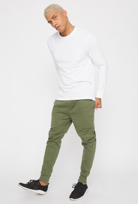 Basic Solid Jogger