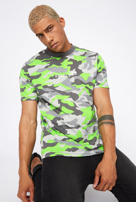 Graphic Neon Camo T-Shirt
