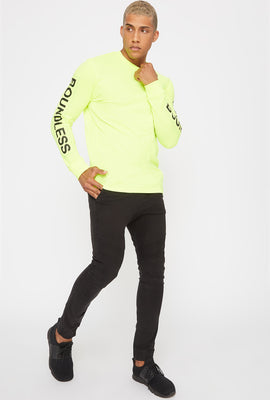 Neon Graphic Long Sleeve