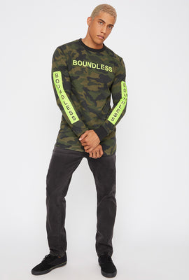 Graphic Neon Camo Long Sleeve
