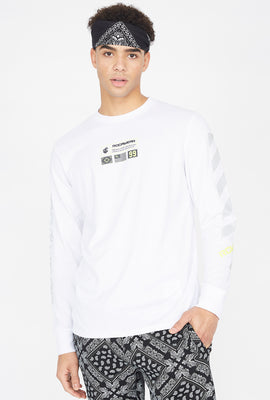 Rocawear Reflective Graphic Long Sleeve Top