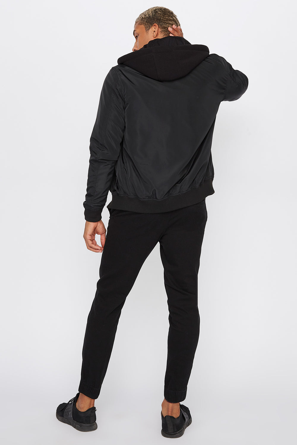 Solid Basic Jogger Black