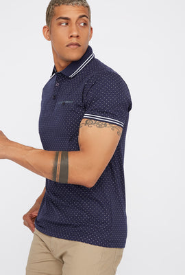 Dotted Polo T-Shirt