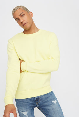 Solid Basic Crew Neck Sweater