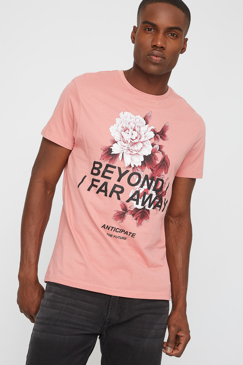 Beyond Floral Graphic T-Shirt Pink