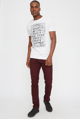 Cities Marble Graphic T-Shirt