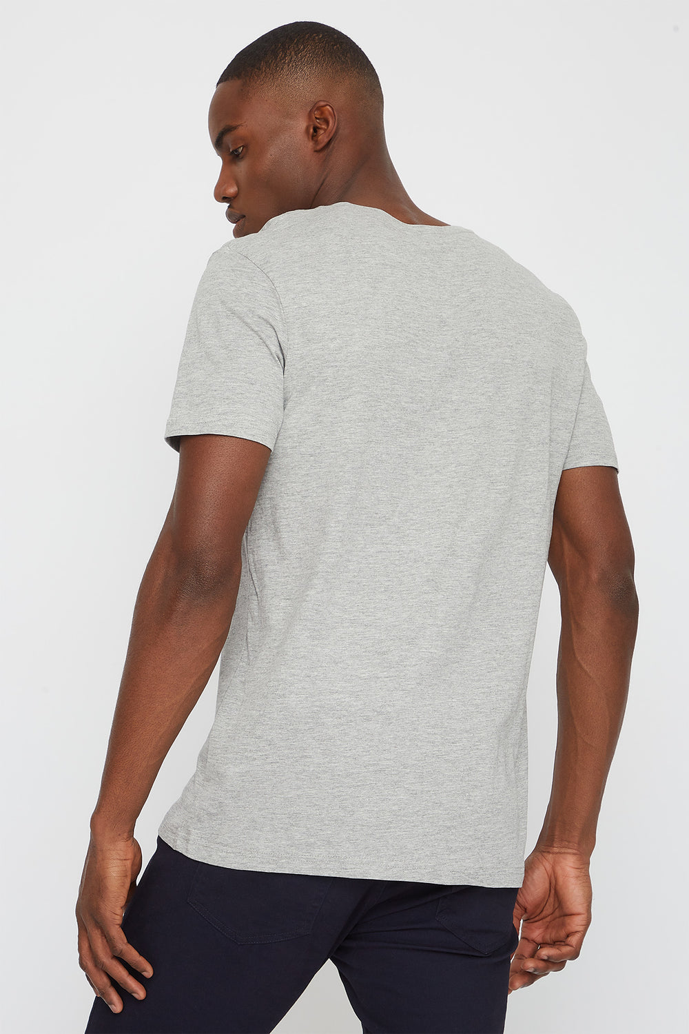 NYC Graphic T-Shirt Heather Grey