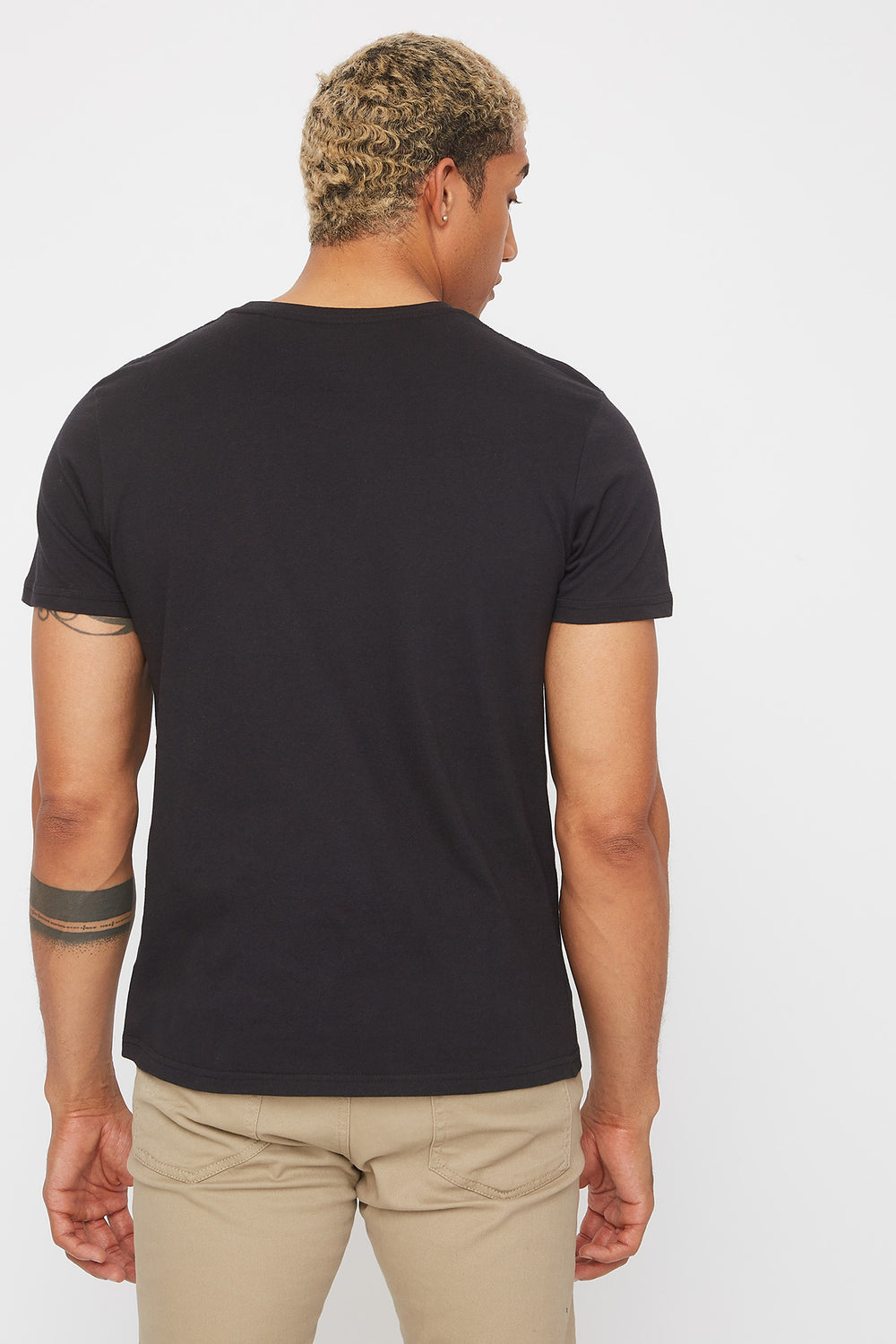 Legendary Los Angeles Grid Graphic T-Shirt Black