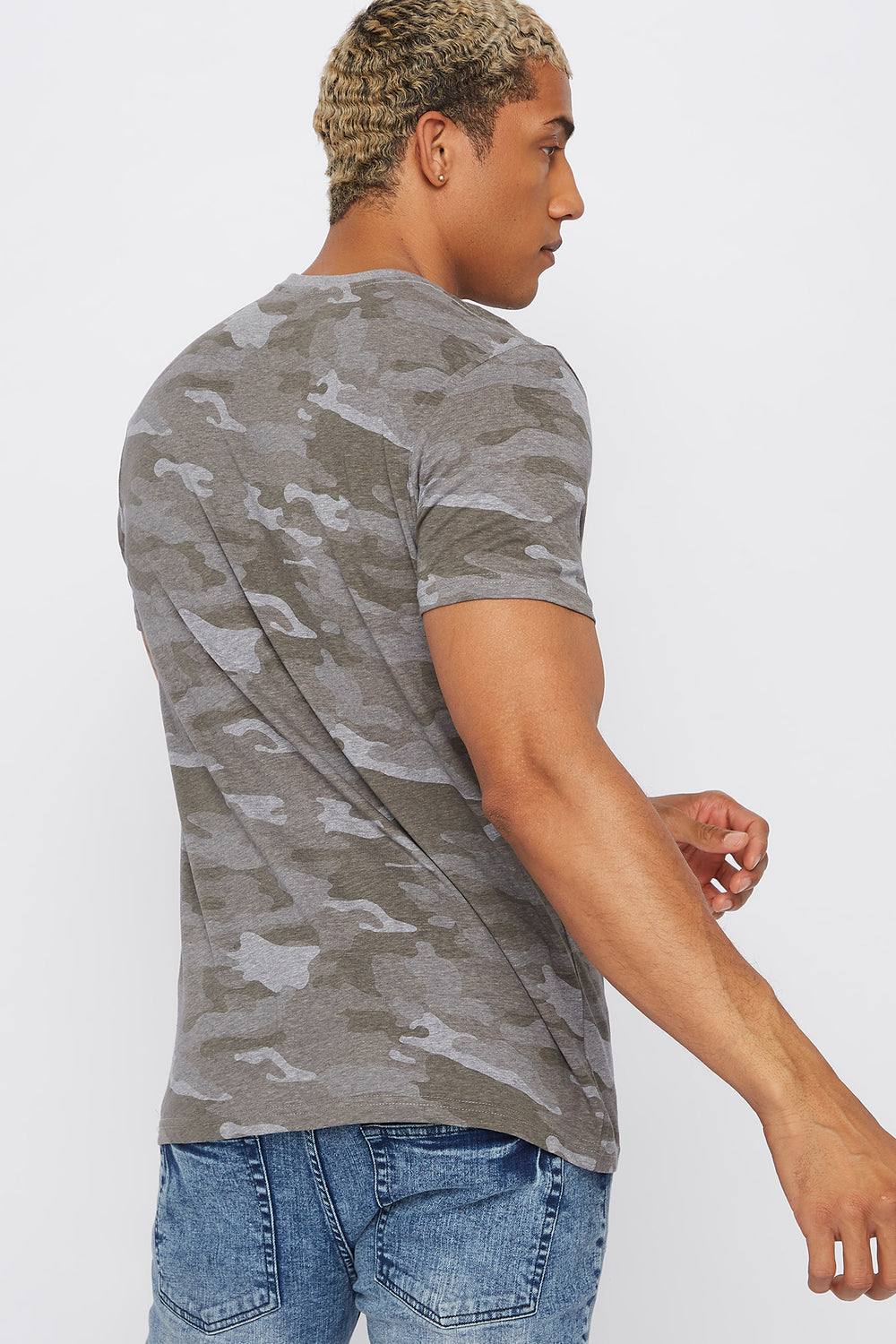 Camo Savage T-Shirt Gingham