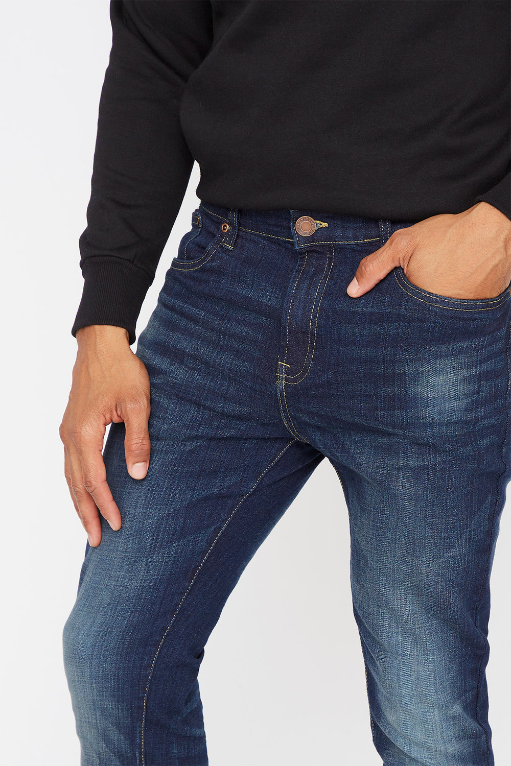 Dark Wash Super Skinny Jean Pacific Blue
