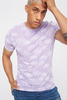Palm Tree Crew Neck T-Shirt