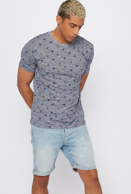 Palm Tree Pocket T-Shirt