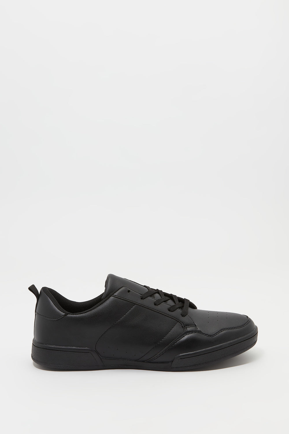 Basic Lace-Up Sneaker Black
