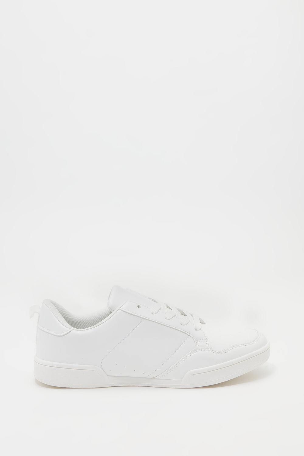 Basic Lace-Up Sneaker White