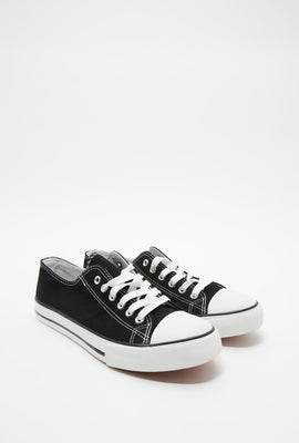 Basic Low Top Lace-Up Sneaker
