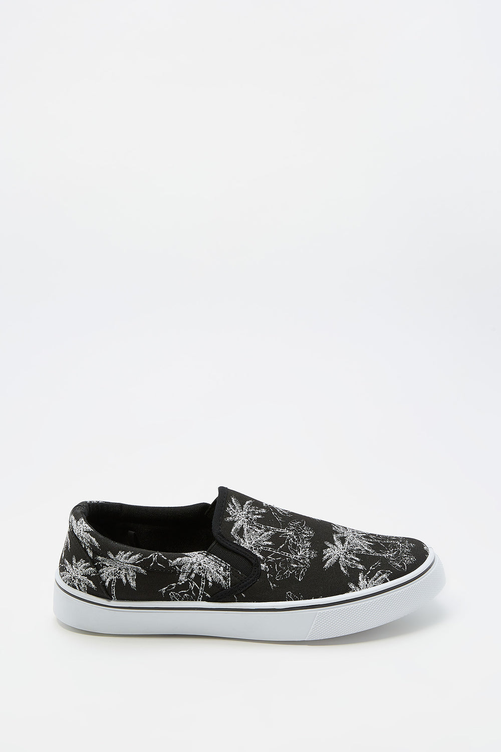 Printed Canvas Slip-On Shoe Assorted