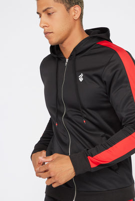 Rocawear Zip-Up Side Stripe Track Hoodie