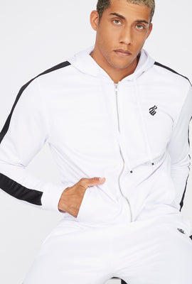 Rocawear Zip-Up Side Stripe Hoodie