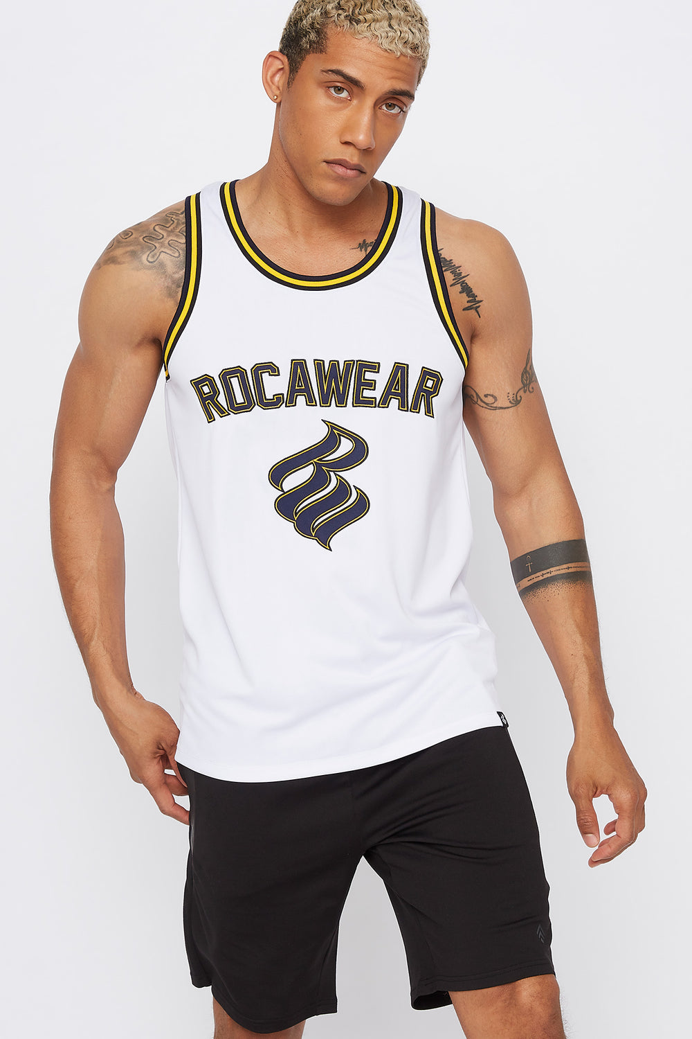Rocawear Basketball Jersey White