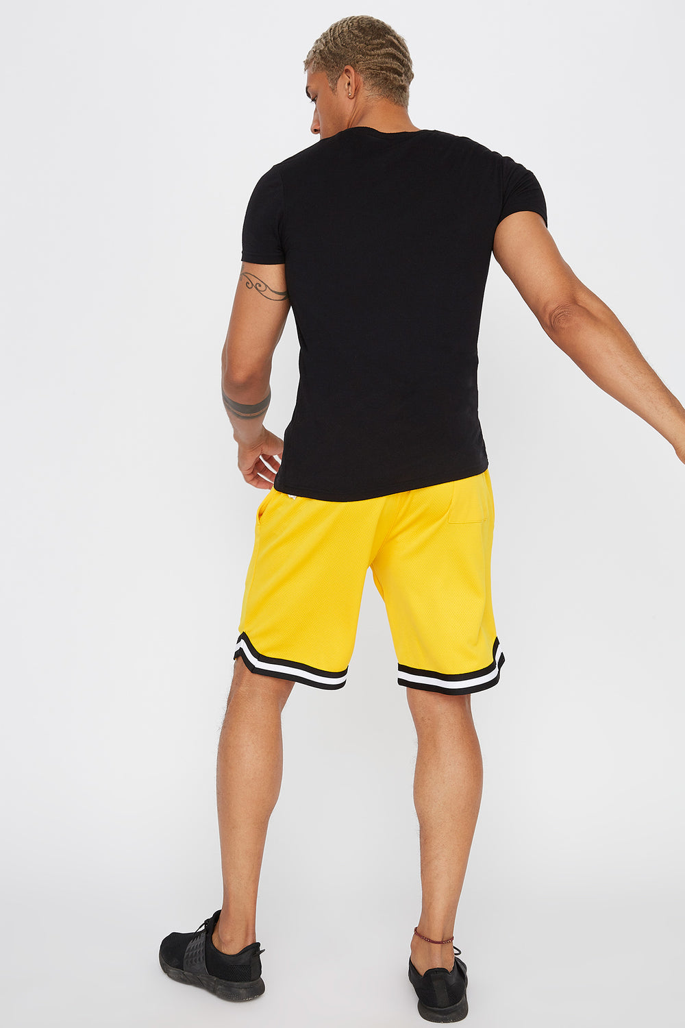 Rocawear Basketball Short Yellow