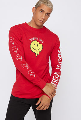 Thank You Smiley Face Sweatshirt