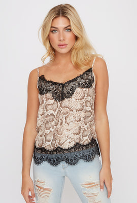 Snake Lace Camisole