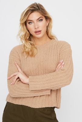 Teddy Ribbed Sweater