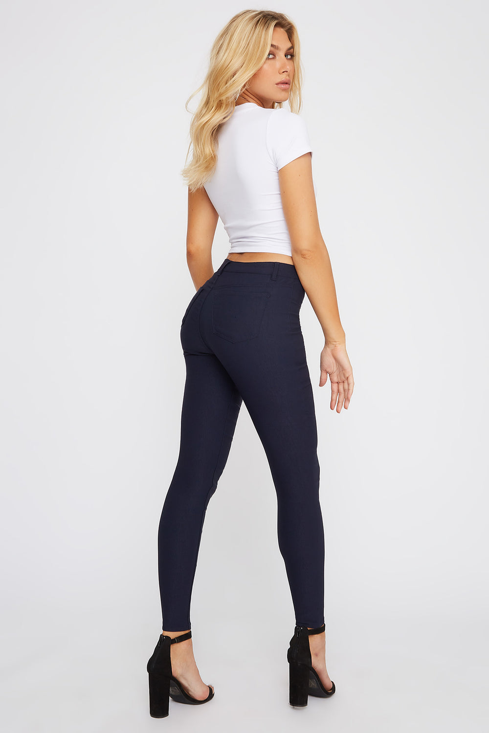 Miami High-Rise Super Skinny Jean Navy