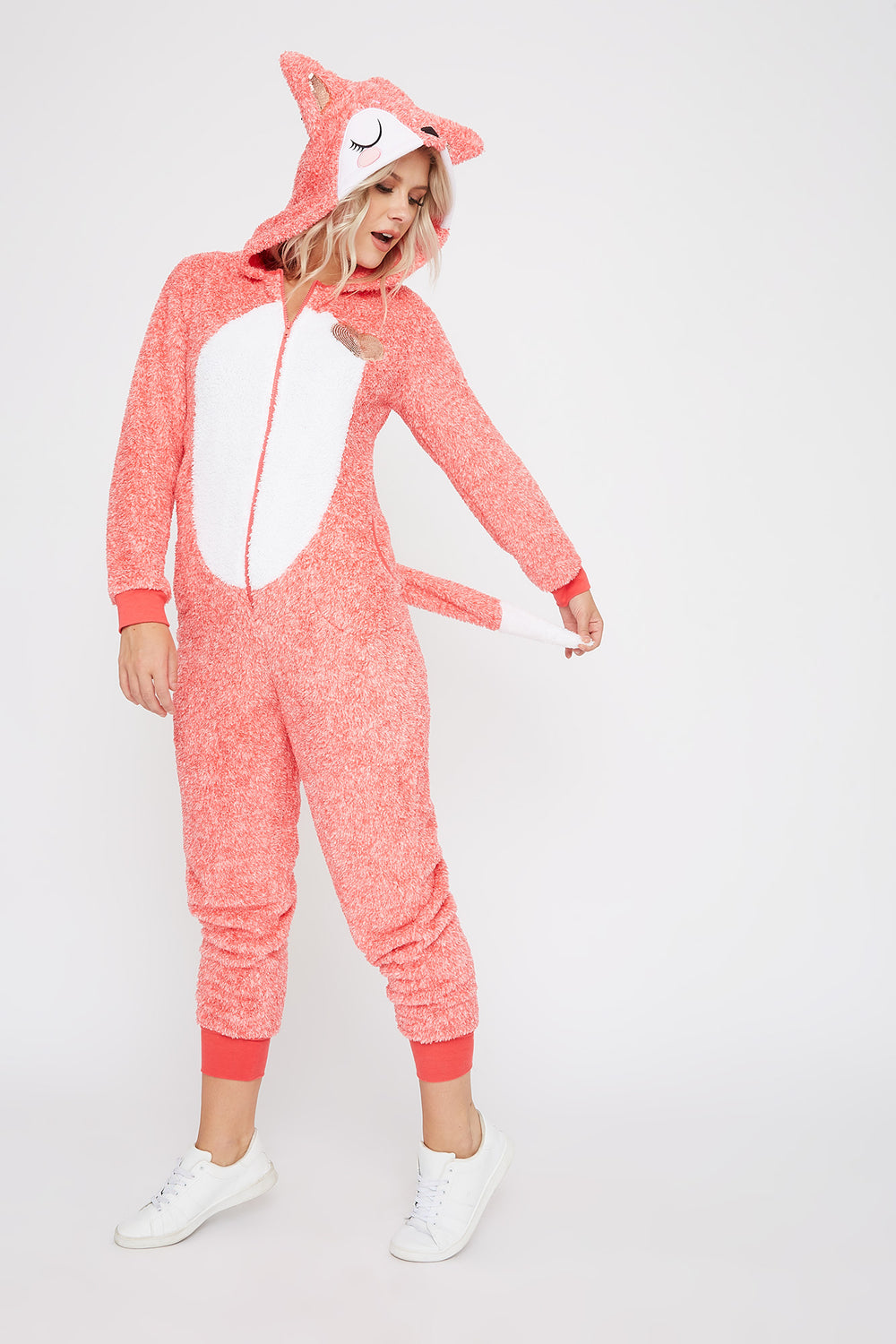 Fox Onesie Orange