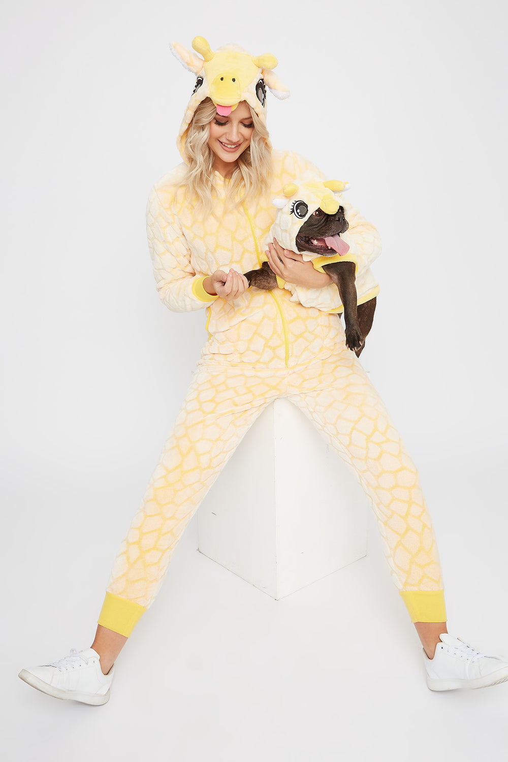 Animal Pet Onesie Orange