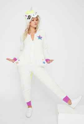 Unicorn Glitter Light Up Onesie