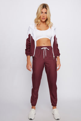 Side Stripe Windbreaker Jogger